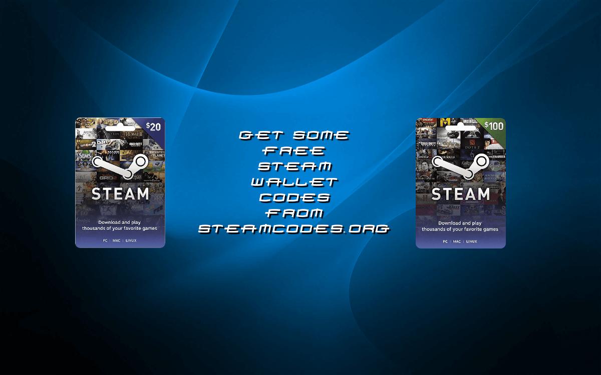 free steam gift card codes 2020